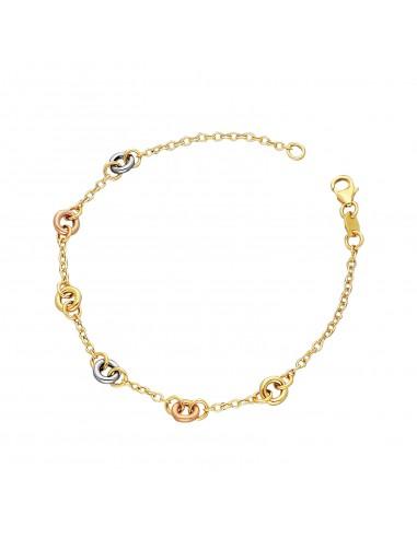 Bracelet 18k White Gold, Gold