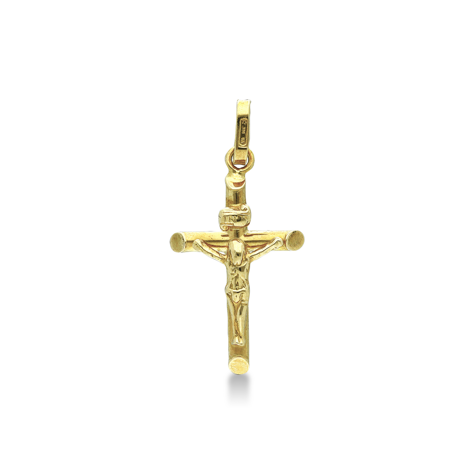Pendant 18k Gold with crucifix