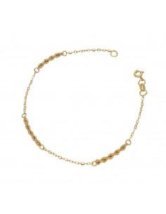 Bracelet 18k Gold with plots
