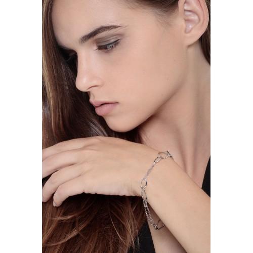 Bracelet 18k White Gold cm 19