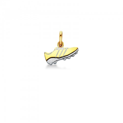Pendant 18k White Gold, Gold with soccer ball