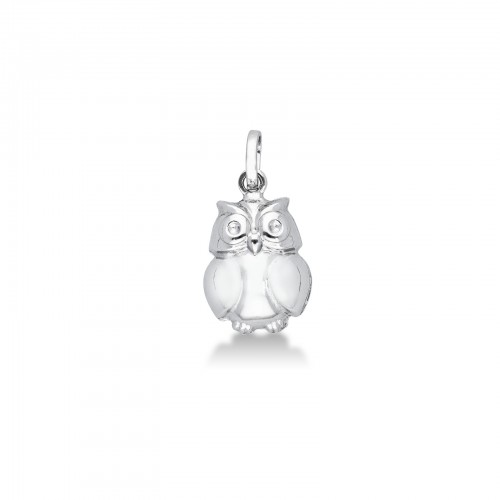 Pendant 18k White Gold with Animals