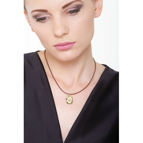 Pendant 18k Gold with Angel