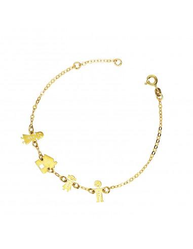 Bracelet 18k Gold cm 16