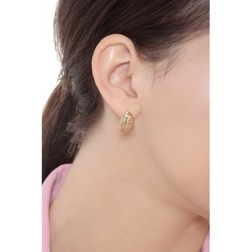 Earrings 18k Gold with Ovals