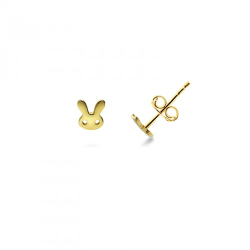 Earrings 18k Gold with Animals