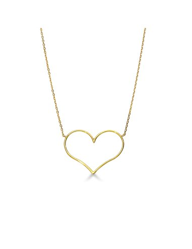 Necklace 18k Gold with Heart