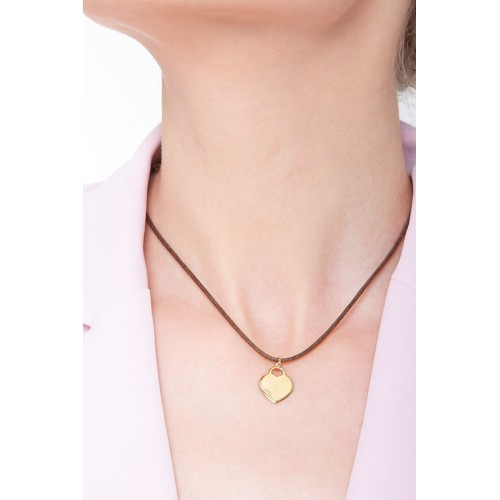 Pendant 18k Gold with Heart