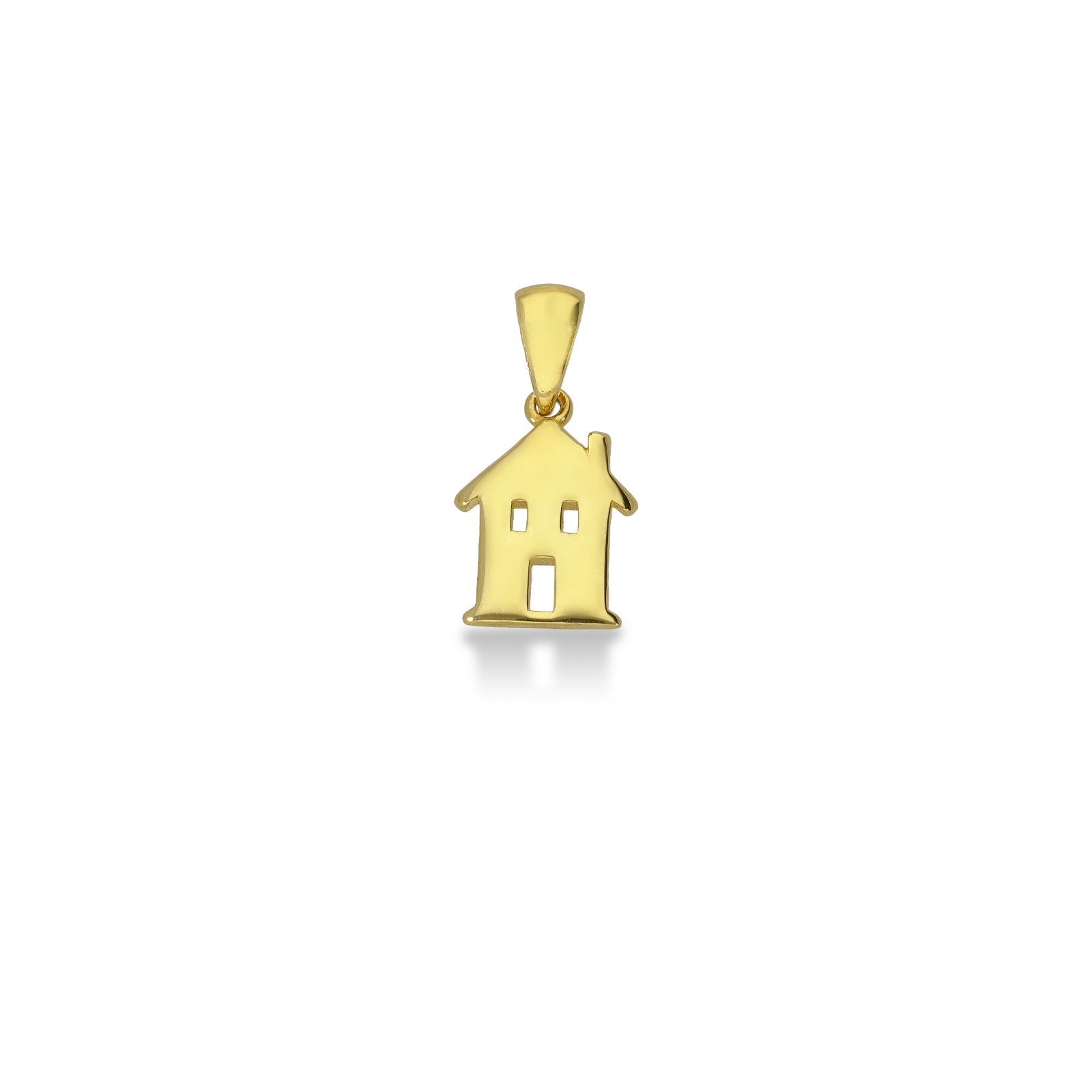 Pendant 18k Gold with home