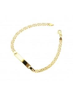 Bracelet 18k Gold with platelet
