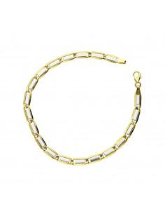 Bracelet 18k White Gold, Gold cm 21