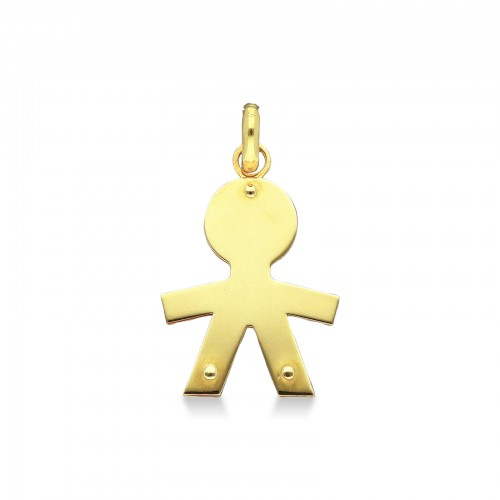 Pendant 18k Gold with baby silhouette