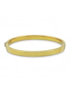 Bracciale rigido in oro giallo 18k.