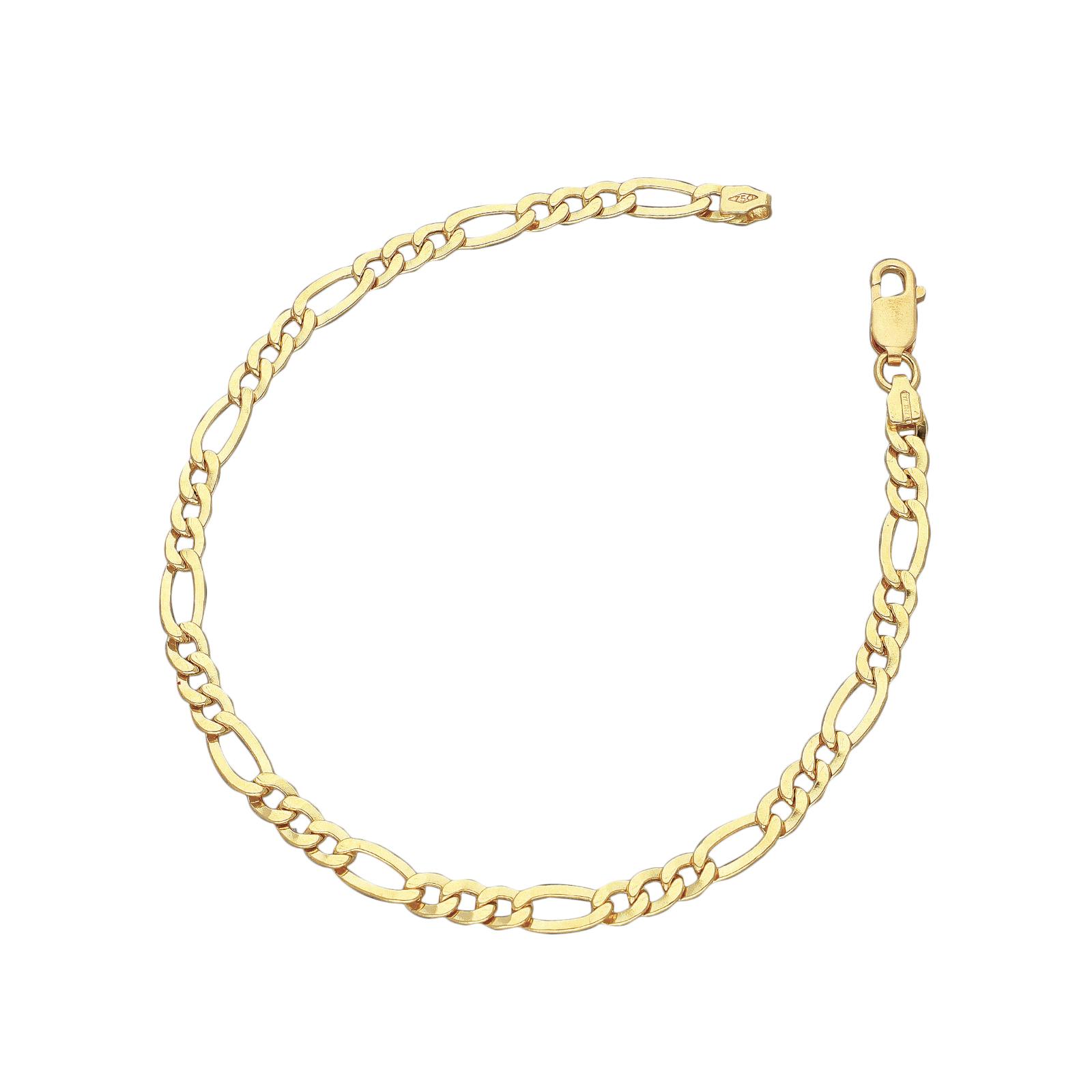 Bracciale Fantasia in Oro Giallo 18k, cm 21.