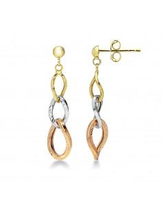 Earrings 18k White Gold, Gold, Rose Gold