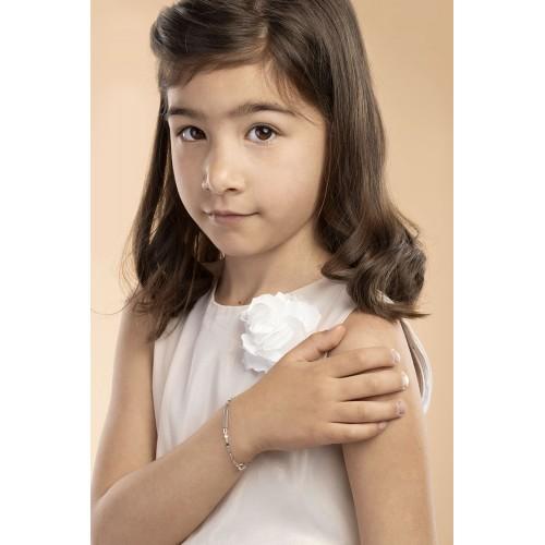 Bracelet 18k White Gold cm 14