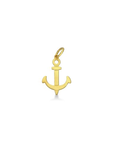 Pendant 18k Gold with Anchor