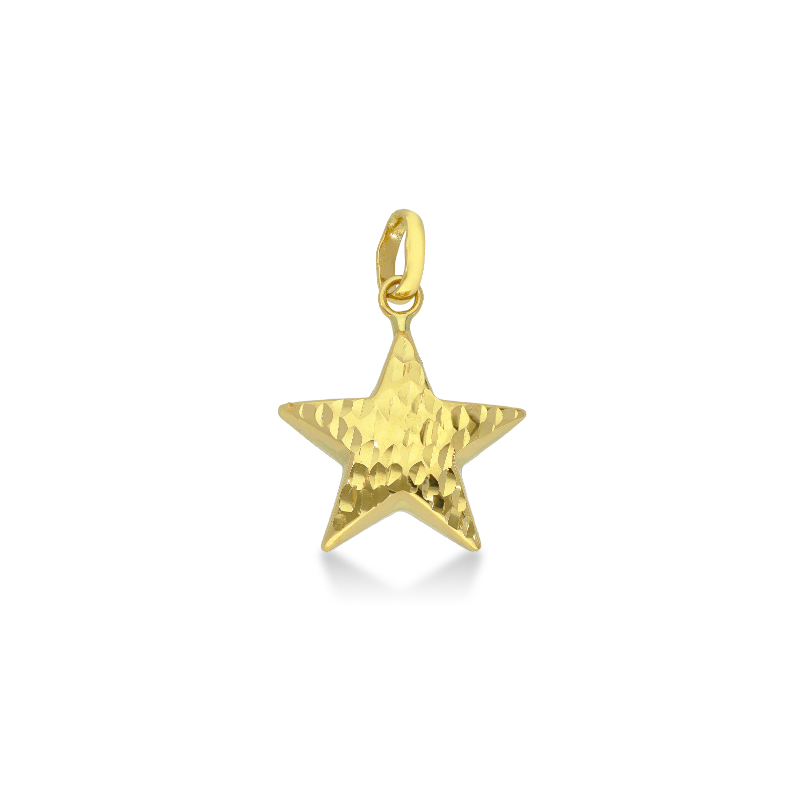 Pendant 18k Gold with Star