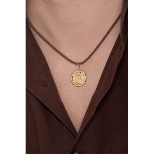 Pendant 18k Gold with Christ