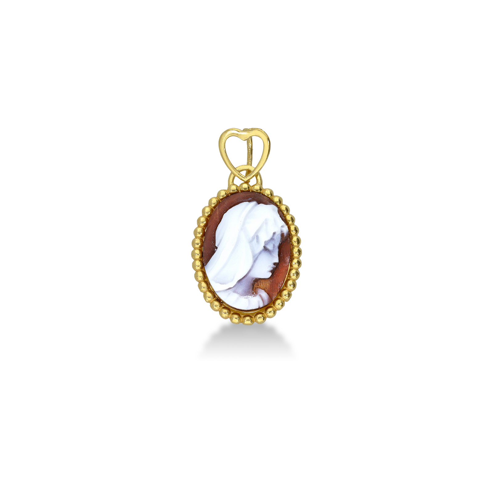 Pendant 18k Gold with Cameo
