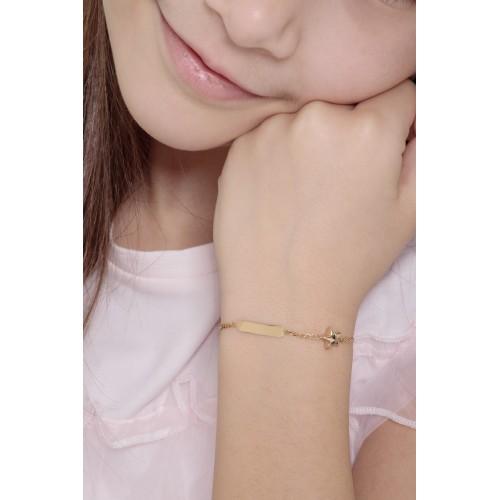 Bracelet 18k Gold cm 14
