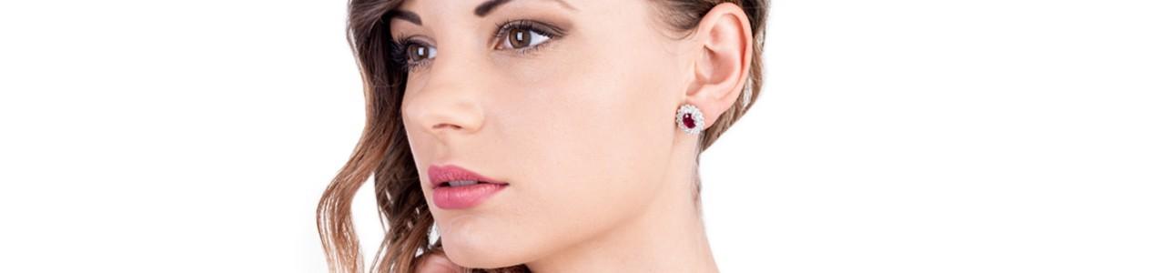 Woman lobe earrings | Gioielli di Valenza