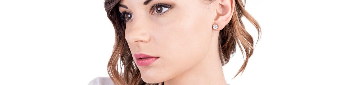 Woman light point earrings | Gioielli di Valenza