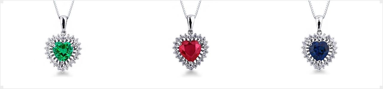 Woman pendants necklace | Gioielli di Valenza