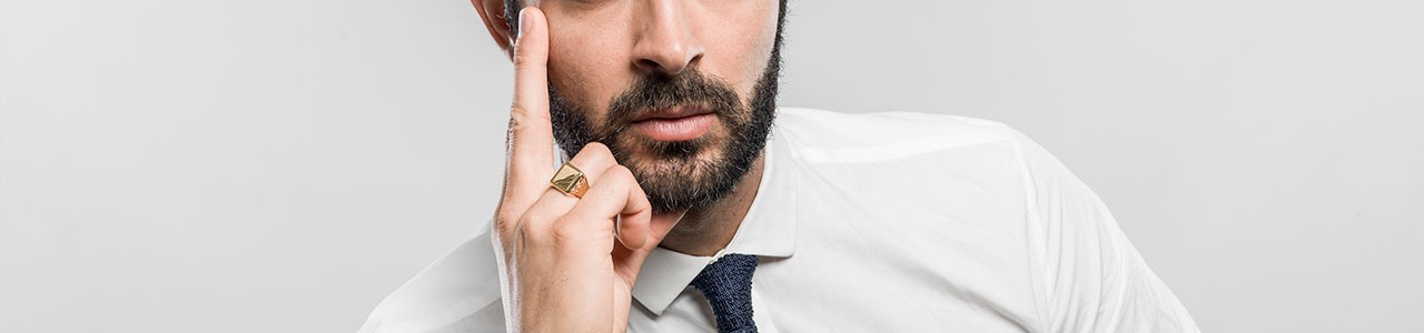 Man rings: our collections | Gioielli di Valenza