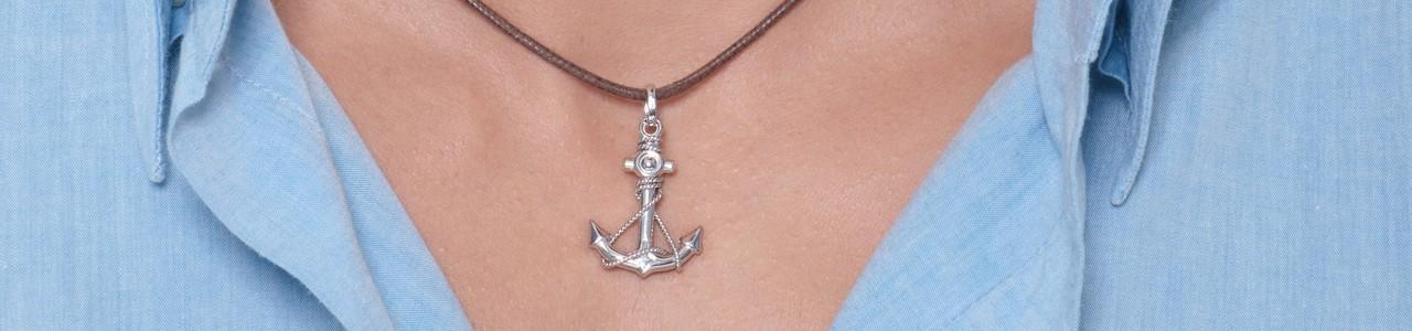 Man pendants necklace | Gioielli di Valenza