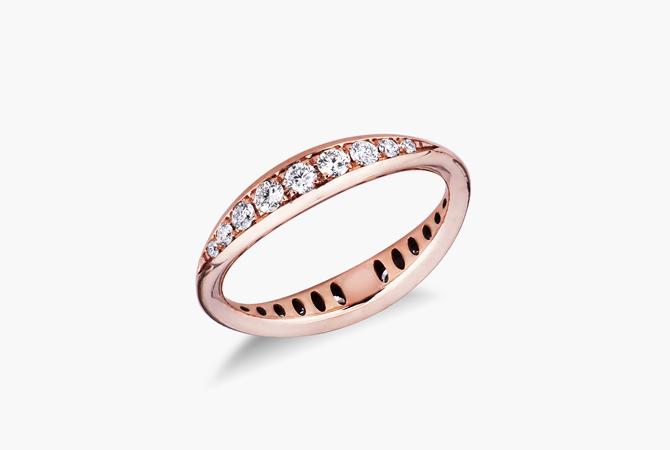 ERANSPIRB-Anello-in-oro-Rosa-18k-a-spicchi-con-Diamanti-gioielli-di-valenza