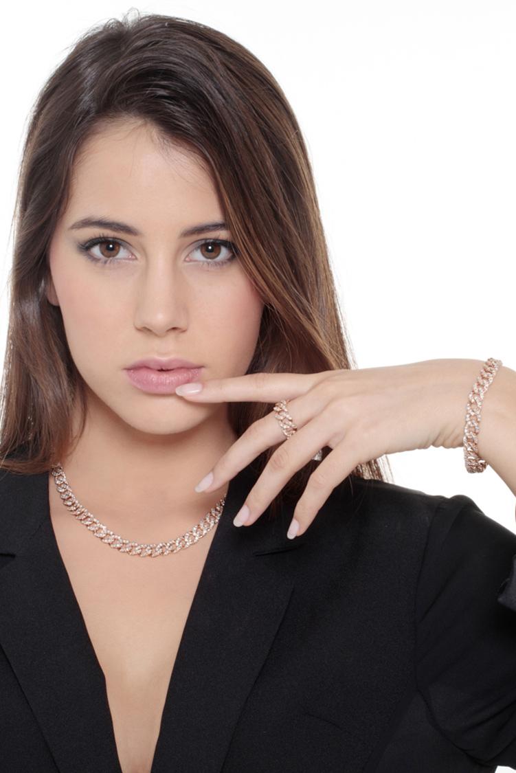 indossato-collezione-parure-groumette-oro-rosa-gioielli-di-valenza