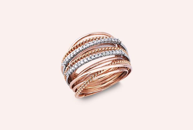 MNAN16911RB-Anello-intreccio-in-Oro-bianco-e-rosa-18k-con-Diamanti-gioielli-di-valenza-rio-collezione-parure